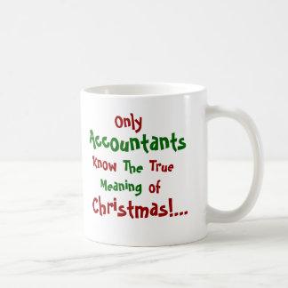 Solamente navidad de los contables… - de doble taza