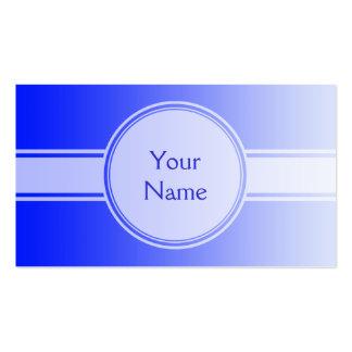 SOLAMENTE pendientes del COLOR - azul real + su te Plantilla De Tarjeta De Visita