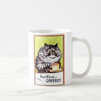 """""""Solamente taza del gato de Louis Wain del vintage"""