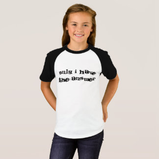 Solamente tengo el texto de la respuesta camiseta