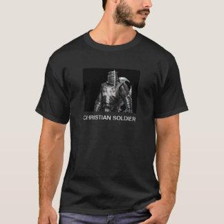 Soldado cristiano camiseta