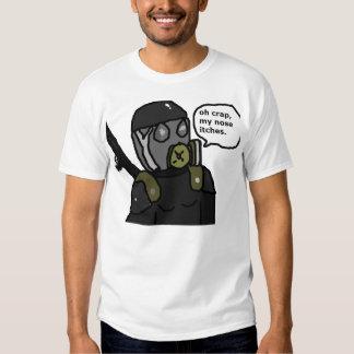 soldado de caballería del sas camisetas