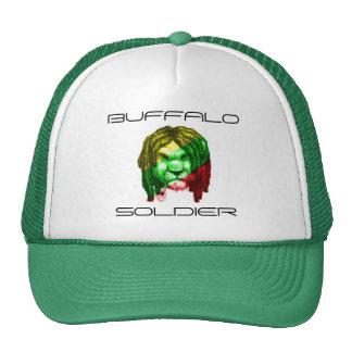 Soldado del búfalo gorras de camionero