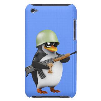 Soldado lindo 3d (editable) Case-Mate iPod touch carcasas