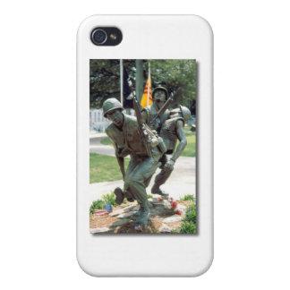 Soldado militar iPhone 4 cárcasas