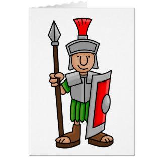 soldado romano tarjeta