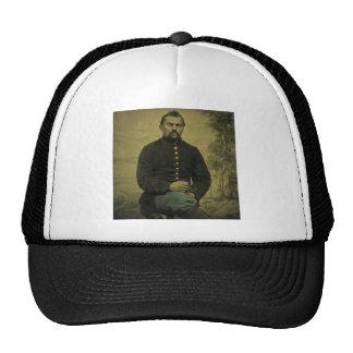 Soldado Tintype de la unión de la guerra civil Gorra