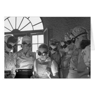 Soldadores de las mujeres en WWII, los años 40 Tarjeta De Felicitación
