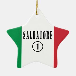 Soldadores italianos: Uno de Saldatore Numero Adornos De Navidad