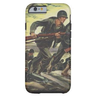 Soldados de la guerra mundial 2 funda resistente iPhone 6