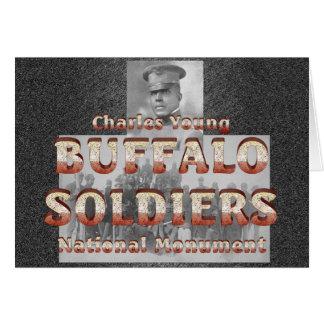 Soldados del búfalo de ABH Tarjeta De Felicitación