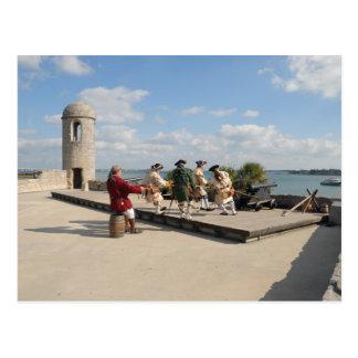Soldados del Castillo de San Marcos Tarjetas Postales