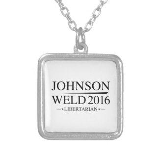 Soldadura 2016 de Johnson Collar Plateado