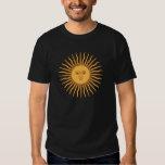 Solenoide de Mayo de la Argentina Camisetas