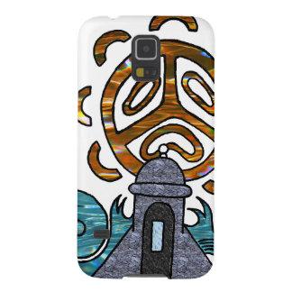 solenoide Taino de garita del Diablo y Funda Para Galaxy S5
