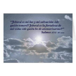 Solenoide y Nubes (Carta) del EL de la estafa del  Felicitacion