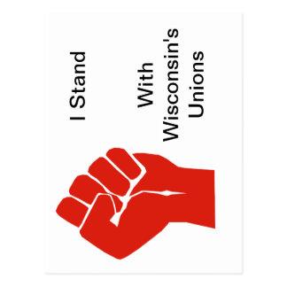 Solidaridad con las uniones de Wisconsin Postal