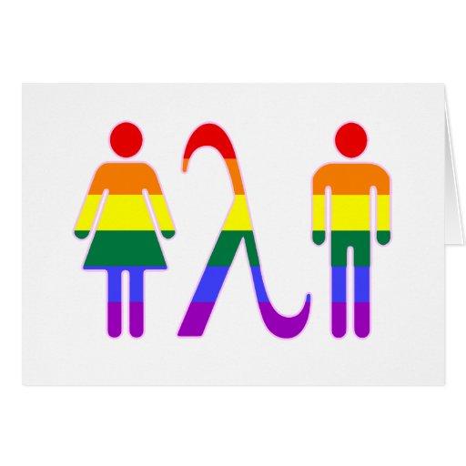 Solidaridad de LGBT Felicitacion
