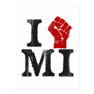 Solidaridad de Michigan Postales