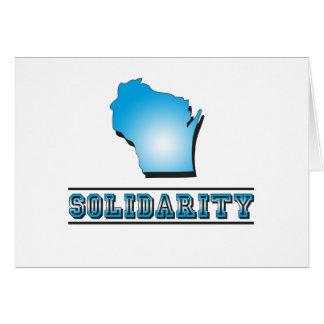 Solidaridad de Wisconsin Tarjetón