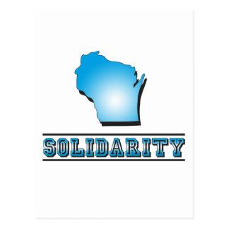 Solidaridad de Wisconsin Tarjetas Postales