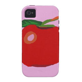 Solo Apple rosa claro iPhone 4/4S Carcasa