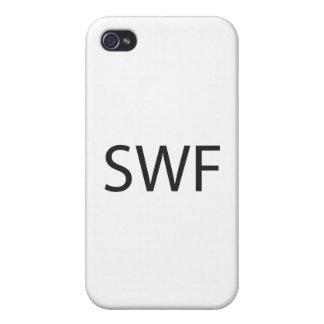 Solo blanco Female.ai iPhone 4/4S Funda