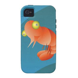solo camarón iPhone 4 carcasas