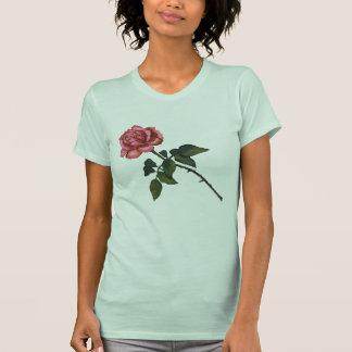 Solo color de rosa rosado: Dibujo de lápiz del col Camiseta