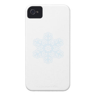 Solo copo de nieve Case-Mate iPhone 4 fundas