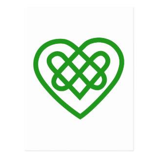 Solo corazón postal