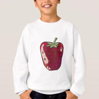 solo ejemplo de la fruta del estilo del dibujo sudadera