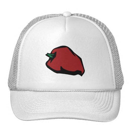 Solo gráfico rojo del habanero gorra