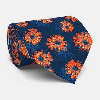 Solo-side floral del vintage del acuario impreso corbatas personalizadas