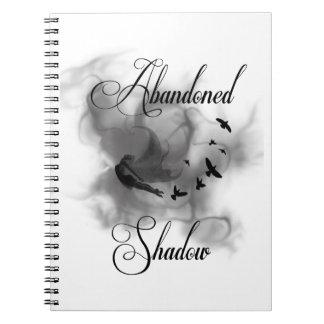 Sombra abandonada cuaderno