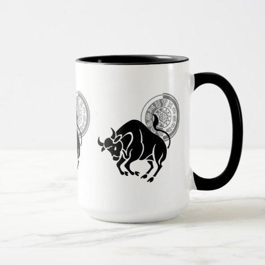 Sombra del tauro taza