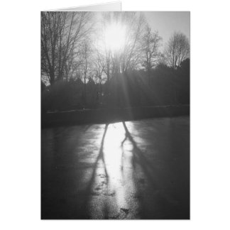 Sombra en el hielo - Noir, tarjeta