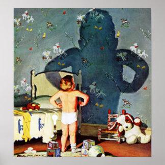 """""""Sombra grande, Little Boy,"""" 22 de octubre de 1960 Póster"""