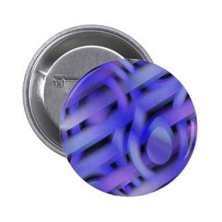 Sombras abstractas de no. 2 de la violeta chapa redonda de 5 cm