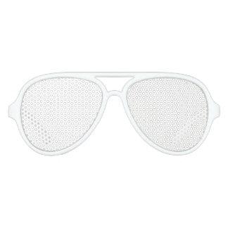 Sombras adultas de encargo del fiesta del aviador gafas de fiesta de aviador