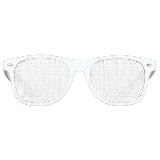 Sombras adultas de encargo del fiesta gafas de fiesta retro