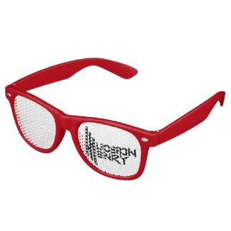 Sombras adultas del fiesta del caminante, rojas gafas de fiesta