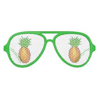Sombras con sabor a fruta del favor de fiesta de gafas de fiesta de aviador