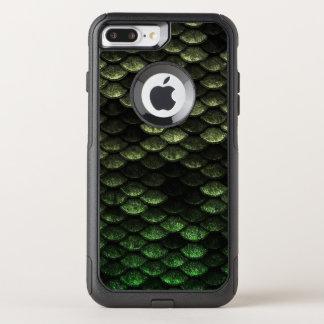 Sombras de color verde oscuro del modelo de las funda commuter de OtterBox para iPhone 8 plus/7 pl