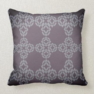 Sombras de la almohada de tiro púrpura de