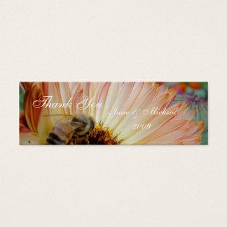 Sombras de la miel tarjeta de visita mini