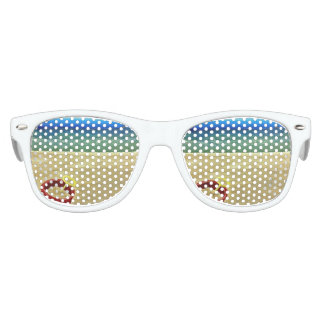 Sombras del cubo de la playa gafas de sol
