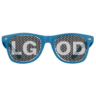 Sombras del fiesta de LGOD Gafas De Fiesta Retro