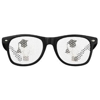 Sombras del fiesta del bulbo del graduado gafas de fiesta retro