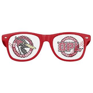 Sombras del fiesta gafas de fiesta retro